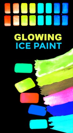 Help kids stay cool with this easy to make glowing ice chalk recipe! #icechalk #chalkpaint #frozenchalk #glowinthedarkpaint #growingajeweledrose #activitiesforkids Craft Projects For Kids, Easy Crafts For Kids, Diy For Kids, Fun Crafts, Arts And Crafts, Help Kids, Summer Crafts, Creative Crafts, Art Projects