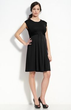 Maternal America 'Empire Cascade' Maternity Dress available at #Nordstrom