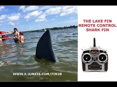 Remote Control Shark Fin  Available at: http://www.e-junkie.com/fin28  $20 for plan set.    The R/C fin simulates the dorsal fin of a Great White shark. It's the ultimate beach and pool toy. Great for shark attack pranks.  The Lake Fin Fake Fin has been a lot of fun and has gotten much attention, interest and laughs everywhere we have taken it. Spectators have even joined in and played the Jaws and Sharknado themes for added entertainment.   Email us at Fin28inc@yahoo.com  Share us on…