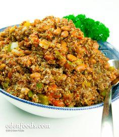 Eden Foods - Spanish Quinoa - Recipe