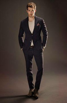 dress it down // #style #menswear #suit
