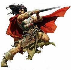 By Crom, Here's Some Bitchin' New Conan the Barbarian Art Fantasy Heroes, Fantasy Art Men, Fantasy Artwork, Frank Frazetta, Comic Book Characters, Fantasy Characters, Henri Matisse, Conan The Destroyer, Conan The Conqueror