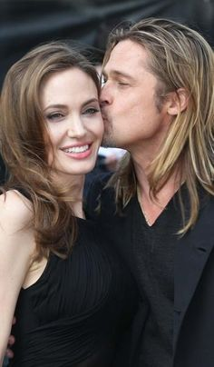"Angelina Jolie & Brad Pitt - ""World War Z"" World Premiere in London; The Empire Cinema (June 2, 2013) <3"