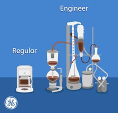 Let's face it, #engineers do #coffee differently.