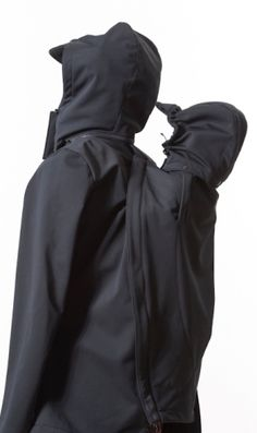 front or back carry softshell jacket - back $250AUD