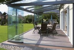 Canopy glass wall tiling glass