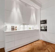 Modern Scandinavian kitchen.