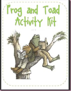 Frog and Toad Activity Kit @Katrina, this is one of our book talk books for lower readers.