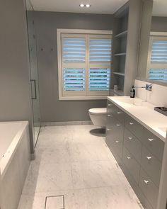 Levert av Lenngren Naturstein - Carrara Marmor | Baderom | Fliser | Carrara Marble | Bathroom | Tiles | Interior Ideas Marble Bathroom, Interior, Decor Design, Marble Tile Bathroom, Carrara Marble Bathroom, New Homes, Small Bathroom, Bathroom, Carrara