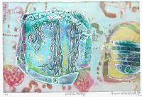 Eveil du printemps, Gravure, du peintre, SHOICHI, HASEGAWA, Signée et numérotée au crayon
