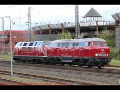 Alte Großdieselloks unterwegs:  V200 007, V200 033, V160 002