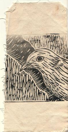 Lino bird
