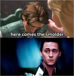 Loki's smolder //Oh, yes.  I just about died laughing and shall never look at this scene in the same way again.
