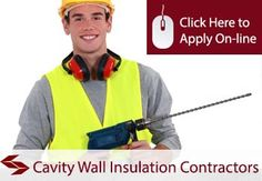 tradesman insurance for cavity wall insulation contractors
