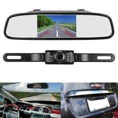 Rear view camera and mirror monitor kit 2017 Christmas gifts list Parking Camera, Car Camera, Car Accessories Gifts, Wireless Backup Camera System, Rear View Mirror Camera, Best Noise Cancelling Headphones, Dvd Vcr, Dashcam