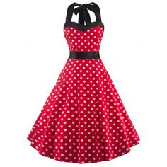 SHARE & Get it FREE | Vintage Open Back Polka Dot Dress For WomenFor Fashion Lovers only:80,000+ Items·FREE SHIPPING Join Dresslily: Get YOUR $50 NOW!