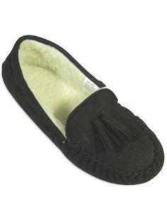 97a99932101 Private Label - Ladies Moccasin Slipper