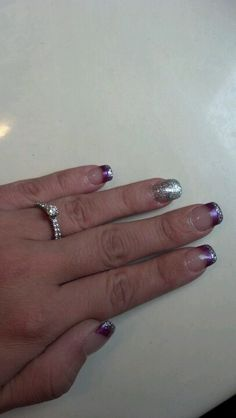 My wedding day nails!