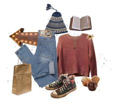 picnic by themoor on Polyvore featuring Topshop, Cheap Monday, Converse, 1928 and Everyday Art