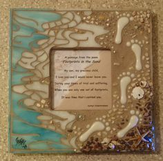 """Footprints in the Sand"" Mosaic - Stained Glass & Mosaics Forum - GardenWeb"