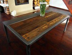 Industrial-Vintage-Rustic-Handmade-Steel-Pine-Coffee-Table-reclaimed-wood