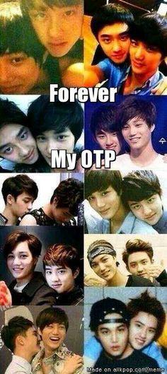 I can never choose between Taoris, Hunhan, Baekyeol, and Kaisoo Kaisoo, Chanbaek, Kyungsoo, Chanyeol, Tao Exo, Exo Do, 5 Years With Exo, 3 Years, Got7