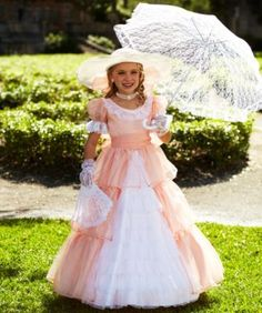 Southern Belle Costume for Girls | Wishcraft by Chasing Fireflies