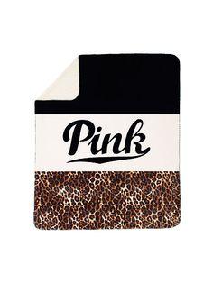 Soft Sherpa Blanket - PINK - Victoria's Secret