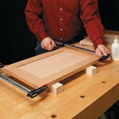 Good article on cabinet door fabrication and assembly...