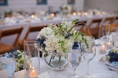 Centerpieces Blue & White