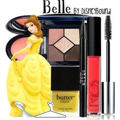 Belle make-up by DisneyBound for you @Anna Claire
