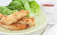 Coconut Lime Chicken Fingers-sub shrimp for breaded chicken fingers! Fast Easy Dinner, Quick Dinner Recipes, Lunch Recipes, Appetizer Recipes, Healthy Recipes, Free Recipes, Appetizers, Coconut Lime Recipes, Coconut Lime Chicken