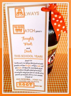 Marci Coombs: Rootbeer Back to School Treat.