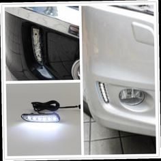 55.00$  Watch now - http://ali0p3.worldwells.pw/go.php?t=32669733159 - Free Shipping Pair of LED Car Lights DRL Daytime Running Lights For Honda ODYSSEY 2010 2011 2012 2013 55.00$