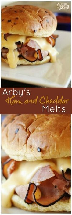 This Arby's Ham and Cheddar Melt with Arby's Sauce recipe is one you are going to love! A quick and easy dinner recipe for the whole family. via @favfamilyrecipz