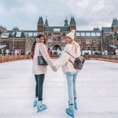 """23.5k Likes, 350 Comments - NOOR (@queenofjetlags) on Instagram: """"Favorite thing to do in Amsterdam all winter ☺️☺️☺️ @stephsa #amsterdam"""""""