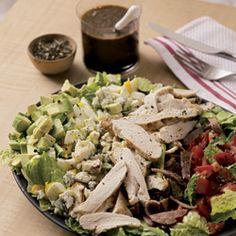 Cobb Salad with Balsamic Shallot Vinaigrette