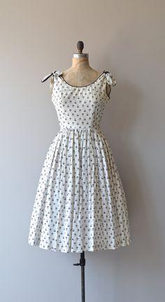 Summer Fling dress vintage 1950s dress cotton 50s by DearGolden