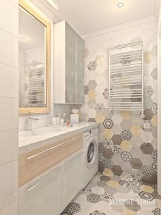 Су ракурс 3 Diy Bathroom Decor, Bathroom Design Small, Bathroom Interior Design, Modern Bathroom, Apartment Interior, Apartment Design, Toilet Design, Shower Remodel, Laundry In Bathroom