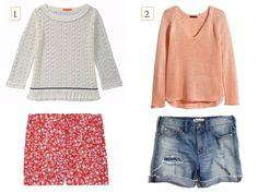Effortless Summer Style: Sweater & Shorts | www.eatshoplivenyc.com