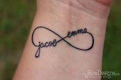 My next tat (but with my sons names)...  Will add a small red heart within it now for my 1 grandson and will add a red heart for every future grandchild as they're born :)