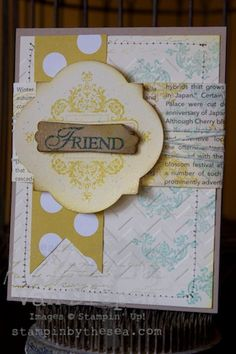 Affection Collection stamp set, Stampin' up