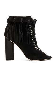 Twelfth Street By Cynthia Vincent Nailed Bootie in Black