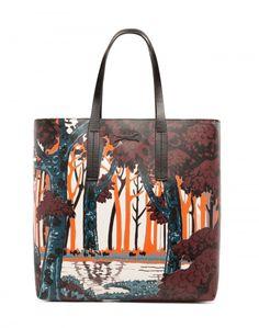 Shopping bag:  estampado naturaleza de Bimba & Lola