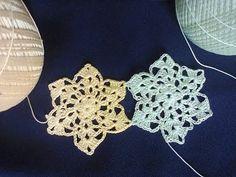 Красивый мотив (вязание крючком). Beautiful motif (crochet). - YouTube