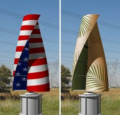 vertical axis wind turbines from Diamond Wind Solutions