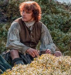 OUTLANDER - love the sun in his beautiful red hair!