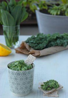 Pesto de kale à l'ail des ours