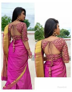 Choli Designs, Brocade Blouse Designs, Blouse Designs Catalogue, Wedding Saree Blouse Designs, Saree Blouse Neck Designs, Simple Blouse Designs, Stylish Blouse Design, Designer Blouse Patterns, Floral Patterns