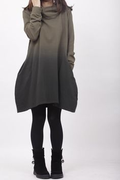 MaLieb etsy shop - ombre dress